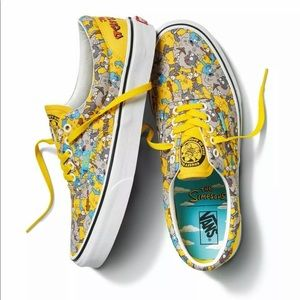 "The Simpsons x Vans Era ""Itchy and Scratchy"""